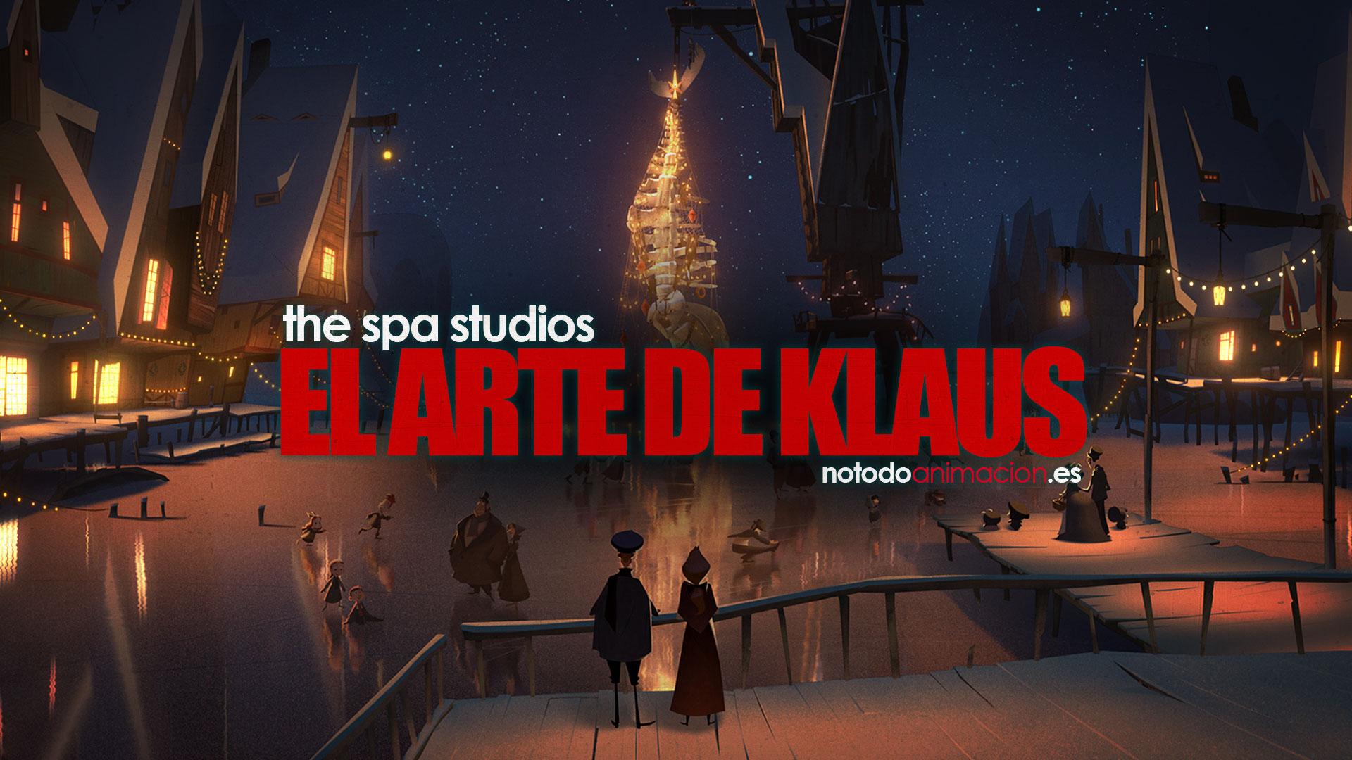 diseño de personajes y concept art klaus