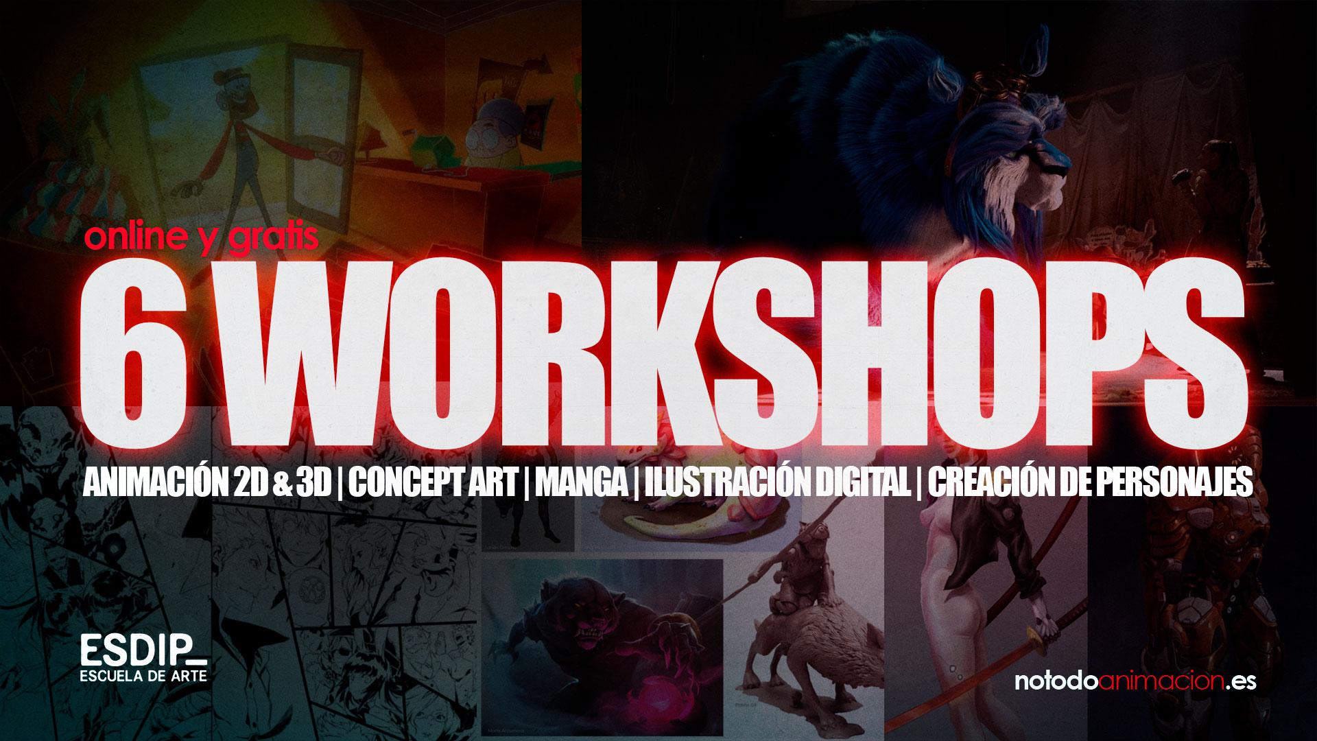 workshop gratis para artistas digitales