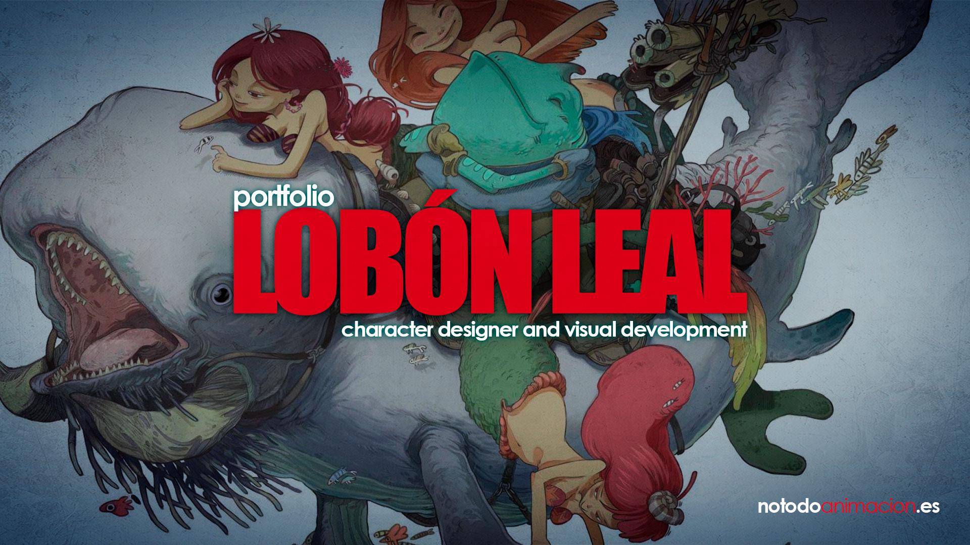 portfolio de diseño de personajes