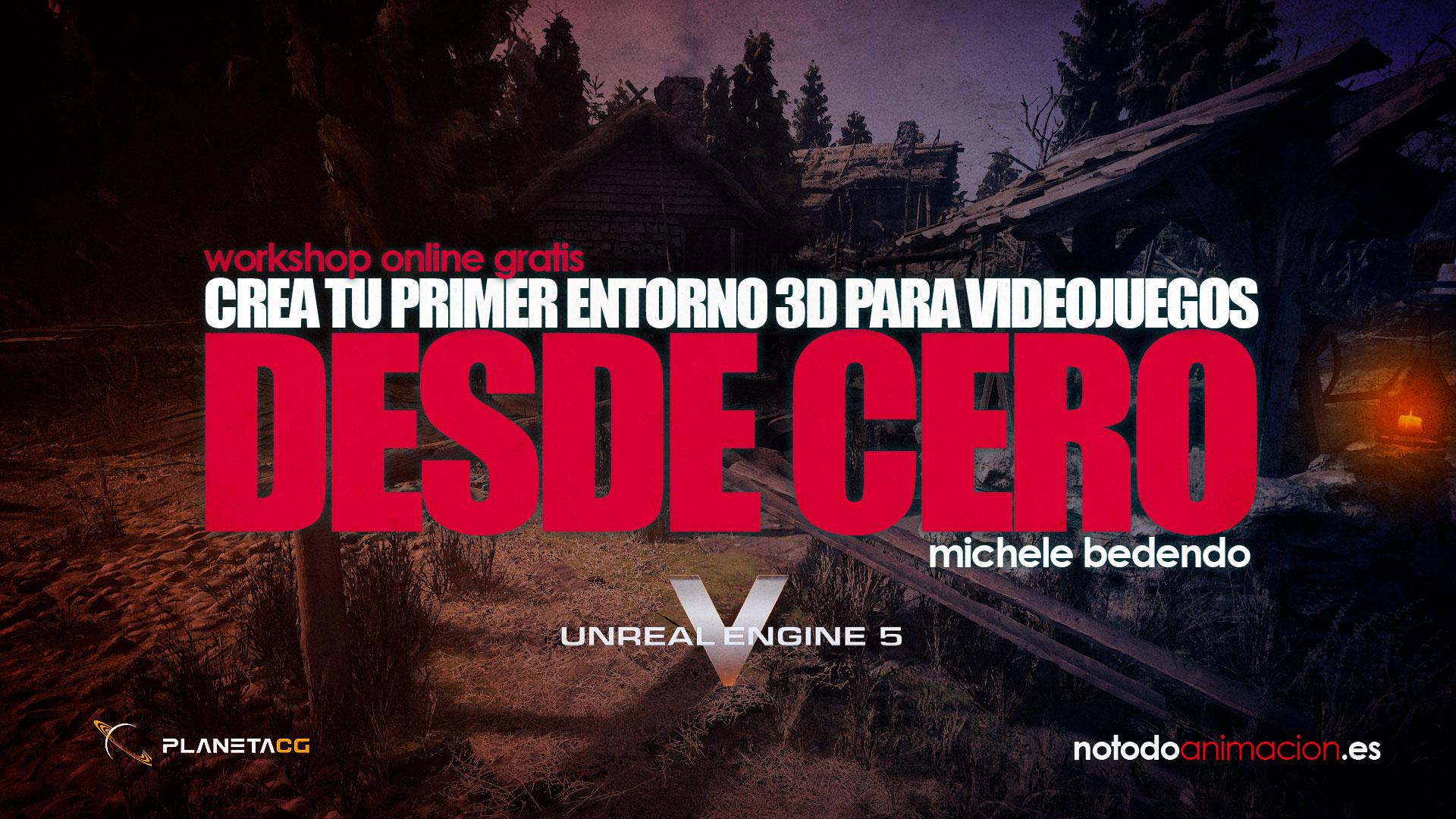 WORKSHOP ONLINE DE CREACIÓN DE VIDEOJUEGOS